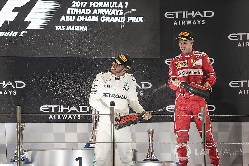 Hamilton supera a Vettel como Piloto del Año en los Autosport Awards