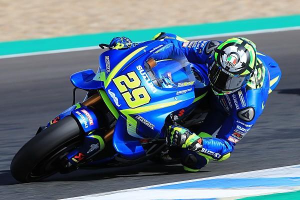 MotoGP Résumé d'essais Essais Jerez - Iannone meilleur temps de la première journée