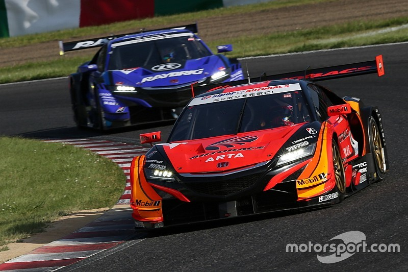 Honda Super GT car hit with weight penalty