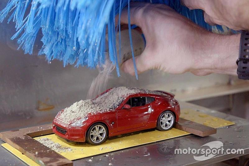 Un túnel de lavado a escala... creado por Nissan