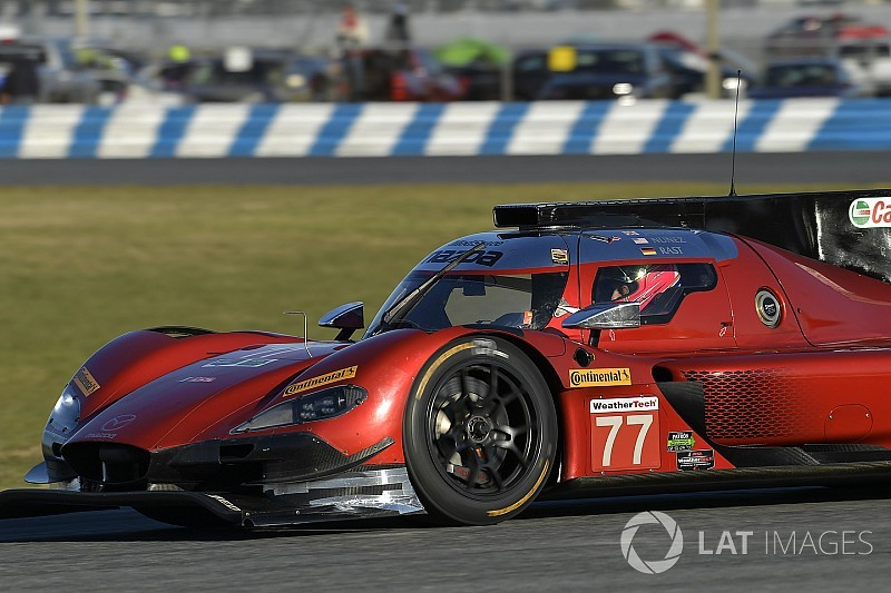 24 Ore di Daytona: Rast e la Mazda ok nelle Libere 1, Alonso non gira