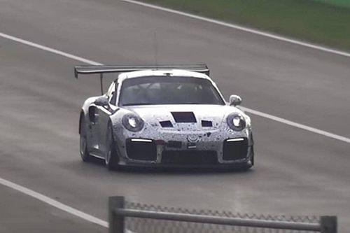 Video: Mysterieuze Porsche 911 gespot op Monza
