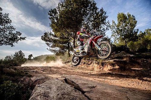 Una de las Honda para el Dakar fue robada en Le Havre