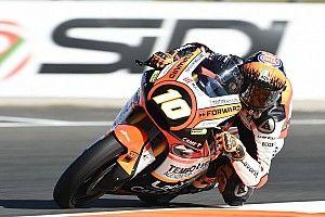 Forward Racing: a Valencia un punto per Baldassarri, Marini nei bassifondi