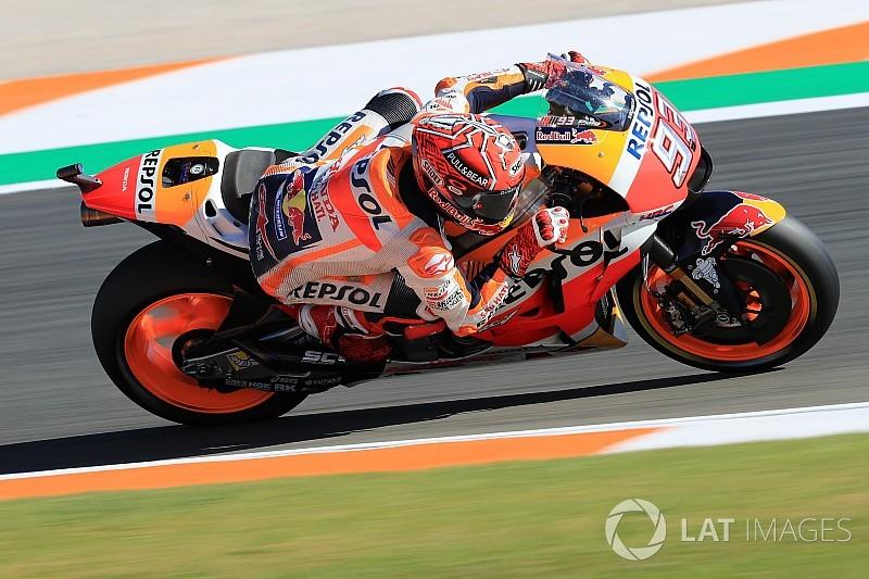 Valencia, Warm-Up: Marquez precede le Suzuki, ma Dovi è quarto