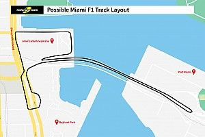 Miami reveals proposed F1 circuit layout