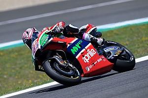 MotoGP Preview Aprilia: a Le Mans potrebbe debuttare il nuovo forcellone in carbonio