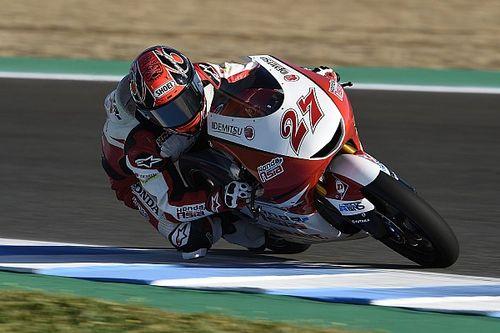 Moto3スペイン決勝:エッテル初優勝、鳥羽表彰台を争うも9位、鈴木6位