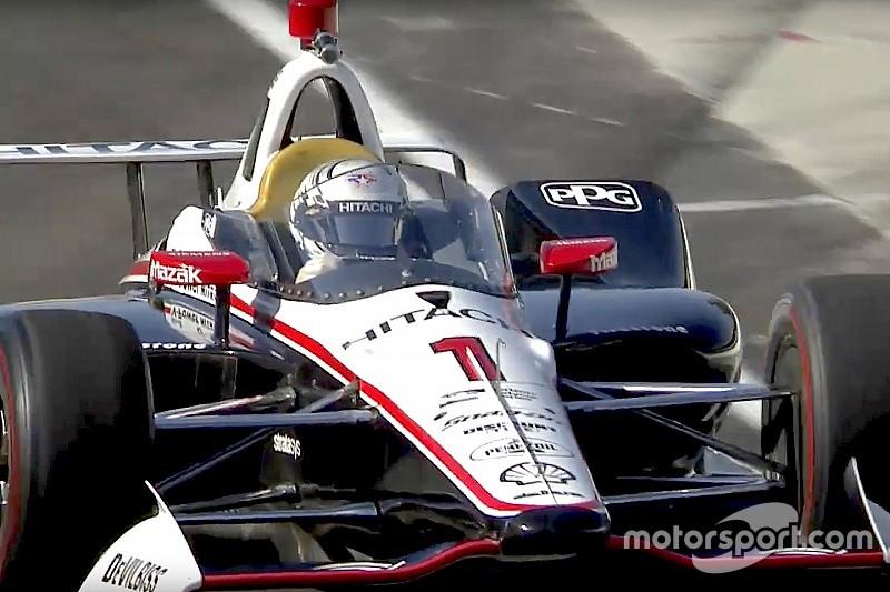 Erste Modifikationen: IndyCar testet Aeroscreen in Indianapolis