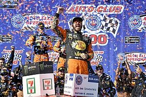 Martin Truex Jr. takes dominant win at Fontana