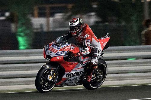 """Starts niet langer """"een sterk punt"""" van de nieuwe Ducati, vindt Lorenzo"""