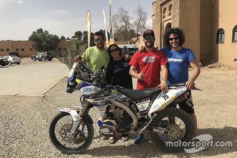 Los Merino, una familia de aventura por el desierto