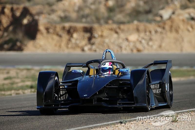 Bruno Spengler, BMW'nin yeni Formula E aracını test etti