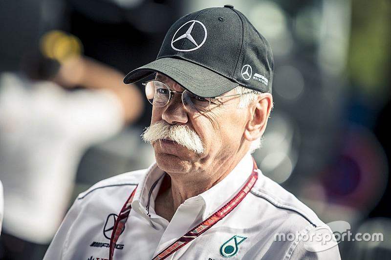Du changement à la tête de Mercedes, mais pas d'impact sur la F1