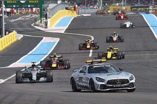 El semáforo del GP de Francia 2018 de F1