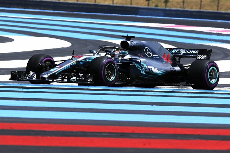フランスFP1速報:ハミルトンがトップ。トロロッソのガスリーが8番手