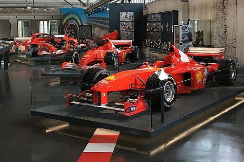 В Кельне открыли выставку машин Михаэля Шумахера