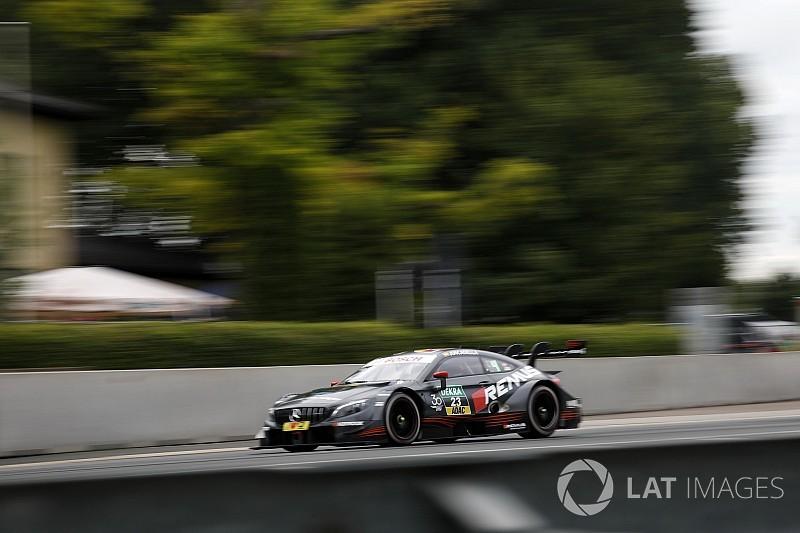 Norisring DTM: Juncadella tops red-flagged qualifying