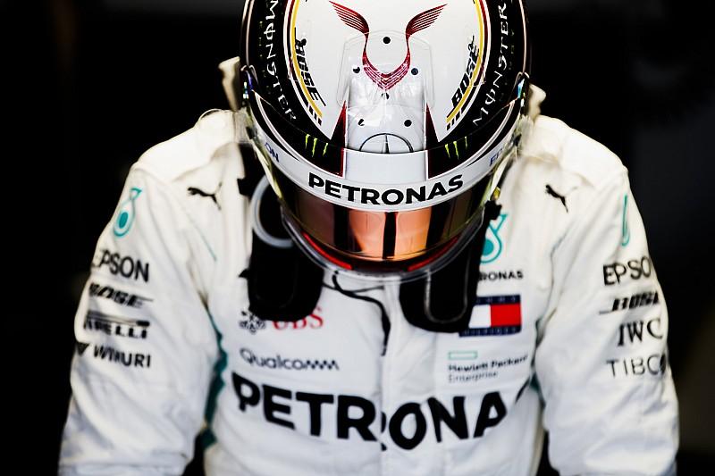 Quebra põe fim a sequência de GPs concluídos de Hamilton