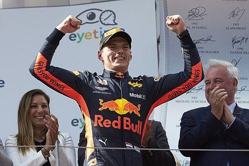 Verstappen megszerezte első Kvjattól független győzelmét