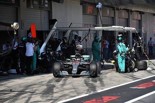 Mercedes va vérifier que les pannes n'ont pas causé d'autres dégâts