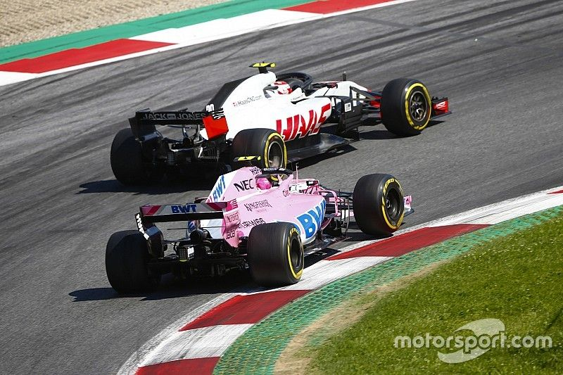 """Force India sees """"irony and hypocrisy"""" in Haas protest"""