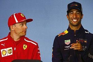 Риккардо удивило решение Райкконена остаться в Формуле 1
