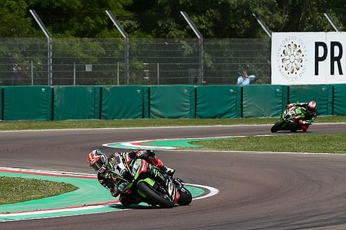 Course 1 - Rea et Kawasaki sans rivaux à Imola