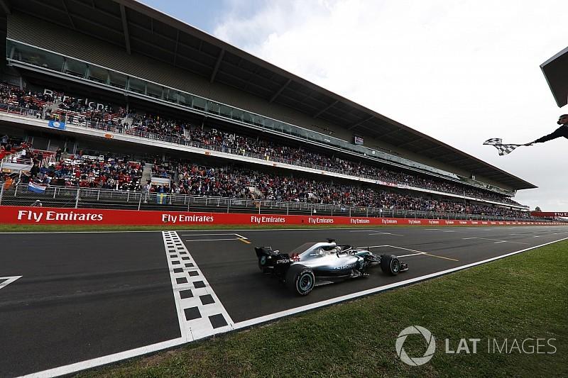 """Hamilton usó el GP de España como """"banco de pruebas"""""""