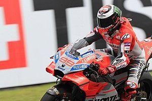 MotoGP Italia: Lorenzo menang, Rossi ketiga, Marquez terjatuh