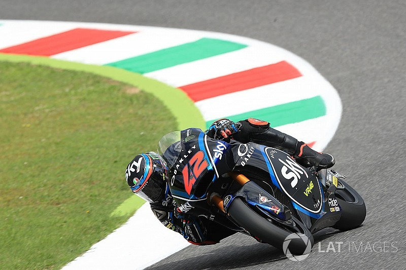 Moto2 Mugello: Bagnaia topt warm-up, Bendsneyder twaalfde