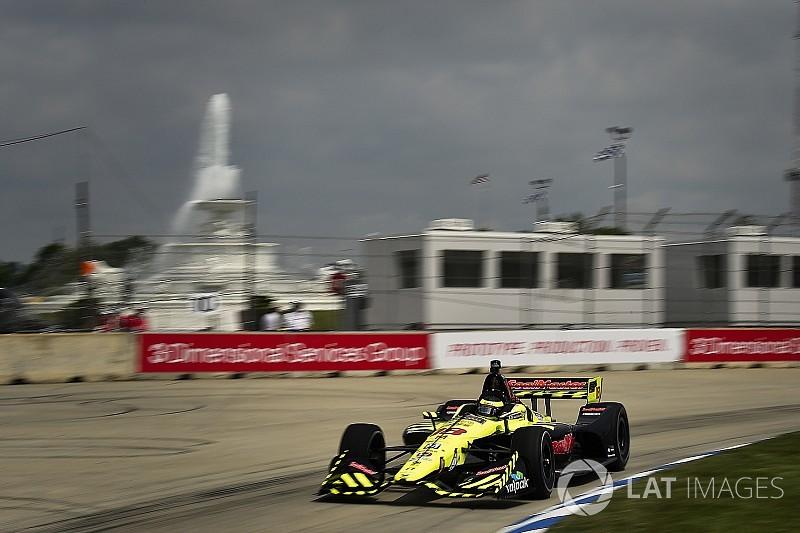 Bourdais lidera la primera práctica en Detroit