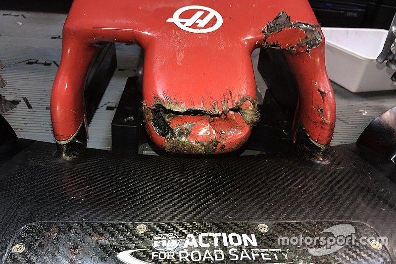 """Grosjean baalt van aanrijding met bosmarmot: """"Jammer voor het dier"""""""