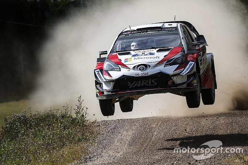 WRCフィンランド速報:タナク、トヨタのホームで今季2勝目。ラトバラが3位