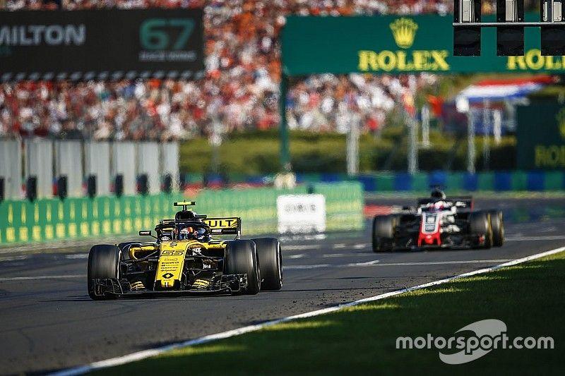 """L'avance de Renault sur Haas a fondu """"comme neige au soleil"""""""