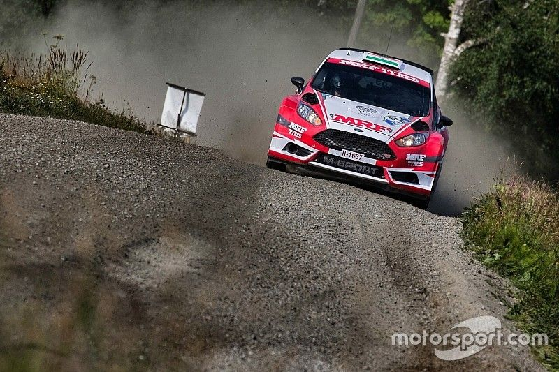 Finland WRC: Gill and MRF impress again in only second event