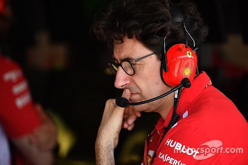 Ferrari: Binotto considera completamente chiuse le questioni sulla legalità della power unit