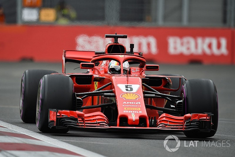 Azerbaijan GP: Vettel quickest in red-flagged FP3