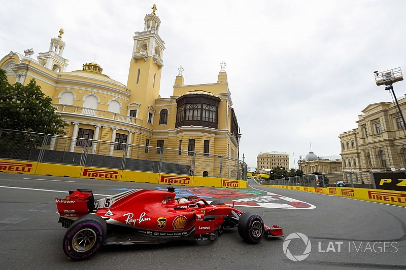«Машина просто огонь». Феттель похвалил Ferrari за поул в Баку