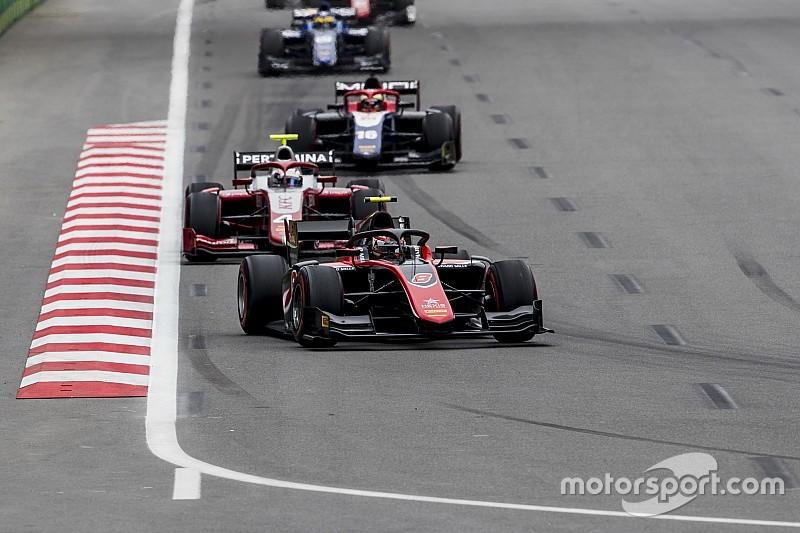 """Formel 2 in Baku: Erster Sieg von Russell """"eine Erleichterung"""""""