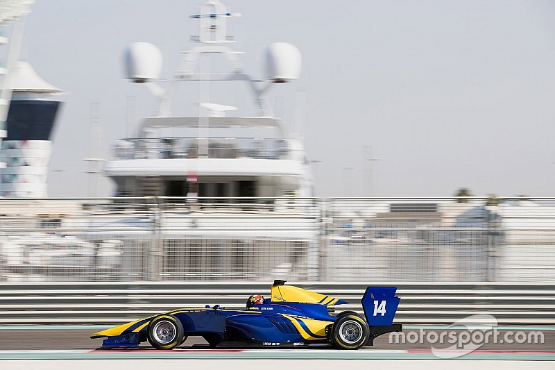 Kari quickest again in second Abu Dhabi GP3 test day