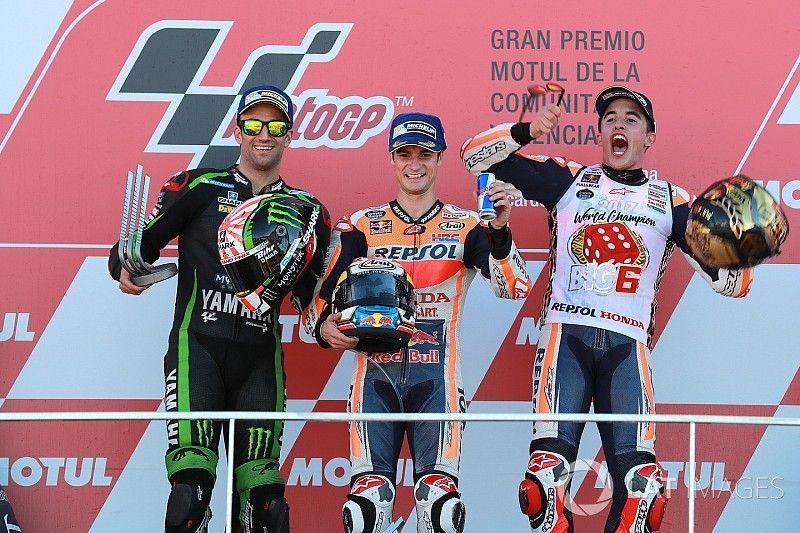 Course - À Pedrosa le dernier GP de la saison, à Márquez le titre !