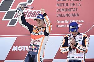 MotoGP Reactions Tutup musim dengan kemenangan, Pedrosa senang