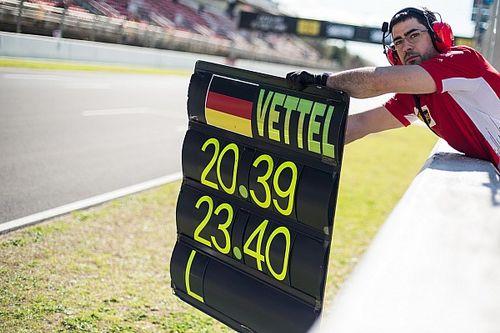 Vettel egymaga többet tesztelt, mint a McLaren