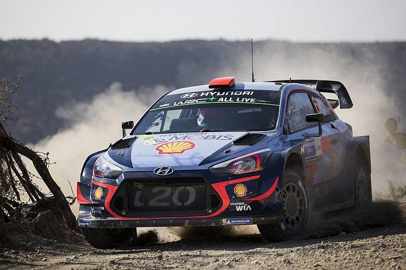 WRC Rallye Mexiko 2018: Dani Sordo vorne - Sebastien Loeb stark