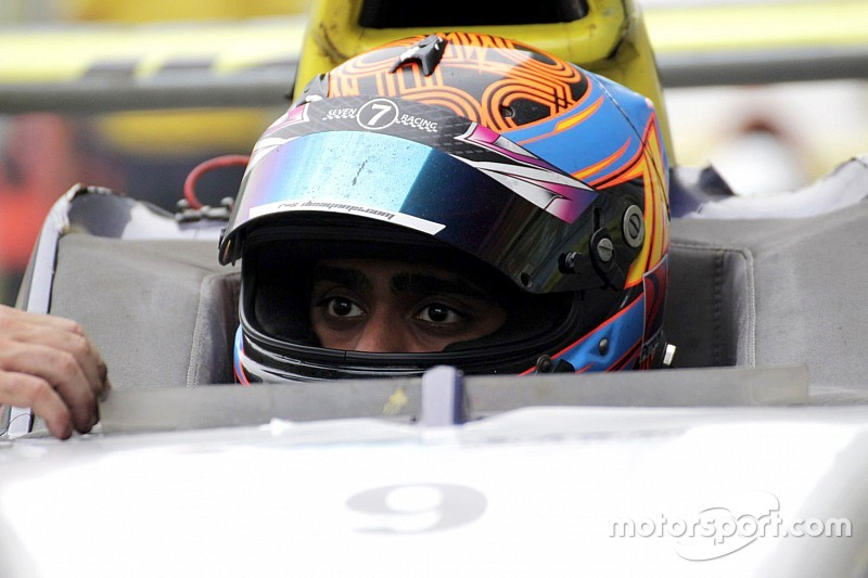 Buddh JK Tyre: Chatterjee sprints from fifth to win Race 2