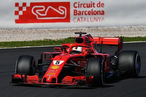 Barcelona F1 test round-up: Vettel leads dominant Ferrari 1-2