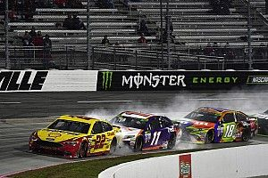 """Logano's crew chief admits he made """"poor call"""" by not bringing car in"""
