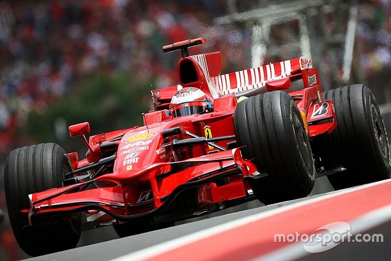 Todos los coches de Kimi Raikkonen en Fórmula 1