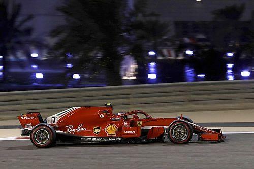 Bahrain GP: Raikkonen quickest in FP2 despite wheel drama